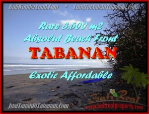 Affordable 3.500 m2 LAND SALE IN TABANAN TJTB156