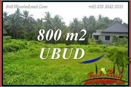 Beautiful Property Land for sale in Ubud Bali TJUB706