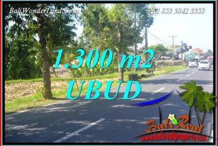 Beautiful Ubud Tegalalang 1,300 m2 Land for sale TJUB713