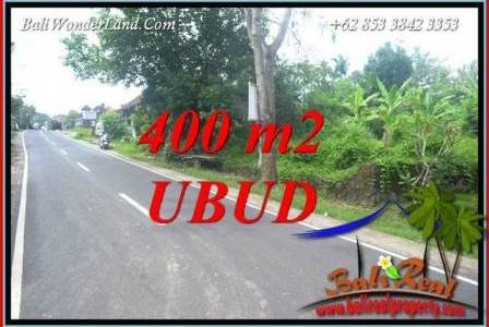 Exotic 400 m2 Land in Sentral Ubud for sale TJUB725
