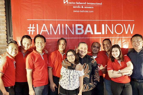 Promosikan Bali, Swiss-Belhotel Kampanyekan Tagar #IAMINBALINOW