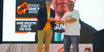 Hari Dinobatkan sebagai Game Industry Icon of the Year