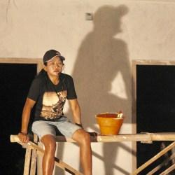 Ketika Ibu yang Buruh Bangunan Bermain Monolog