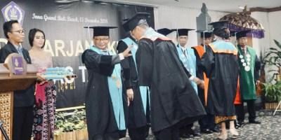 Untab Wisuda 301 Sarjana, Tahun 2019 Tambah Dua Prodi