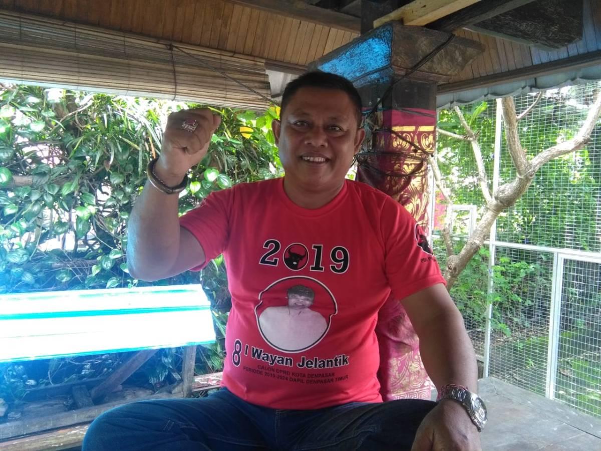 Optimis Raih Kursi DPRD Kota Denpasar, Wayan Jelantik: Siap Tingkatkan Infrastruktur Jalan
