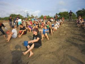 Bali Beach Team Building, Team Building, Save Holy Water Games, Games, Beach, Fun Game, Education Games, Group Event, Bali