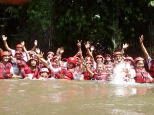 rafting break point, warisan, warisan group, bali cycling, treasure hunt rafting, rafting, cycling, team building, garden team building, fun games, games, Rice paddy cycling