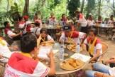 warisan, warisan group, bali cycling, treasure hunt rafting, rafting, cycling, team building, garden team building, fun games, games, Rice paddy cycling, questioner game