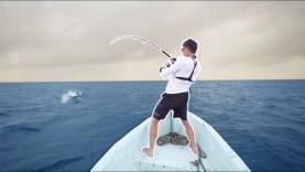 Saltwater Fishing MAYHEM! Massive Fish Feeding Frenzy — (SUDAN Part 3)