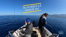 Tai Rubber tekniğiyle fangri mercan avı