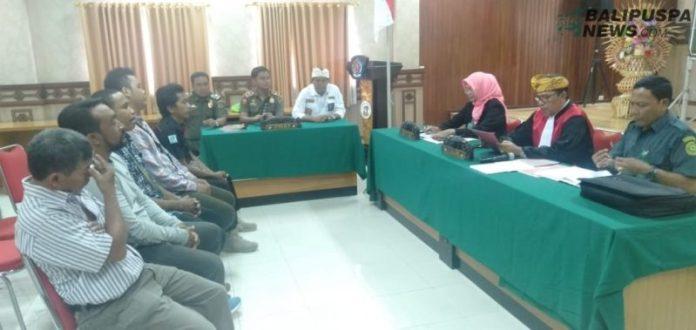 Polisi Pamong Praja (Satpol PP) Kota Denpasar kembali menggelar sidang Tindak Pidana Ringan (Tipiring)