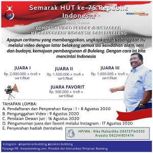 Semarak HUT 73 RI Lomba Video pendek