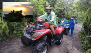 Bali Quad Biking and Tanah Lot Sunset Tour