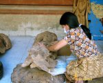 mas village, bali, balinese, wood, carving, sculptors, bali wood carving, worker