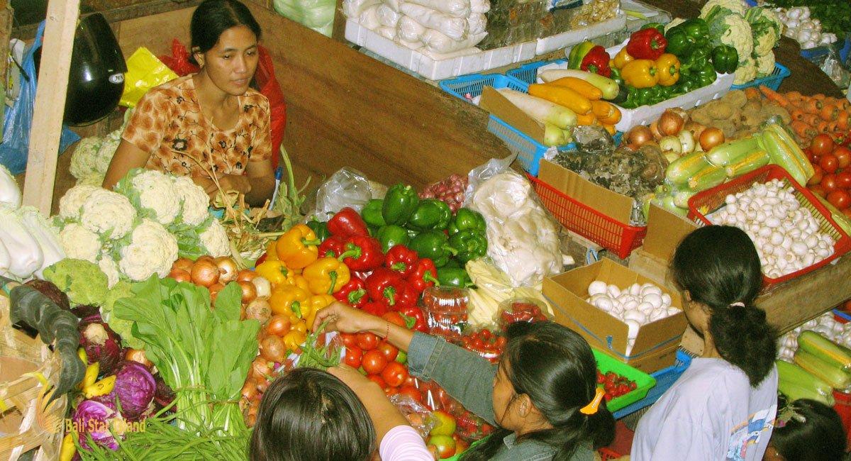 Denpasar Traditional Market | Bali Places to Visit