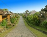 panoramic view, penglipuran village, bali, ancient village, bali ancient village, penglipuran village bali, bali tourist destinations