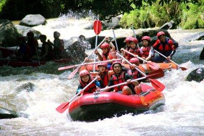 Ayung River Rafting   Bali White Water Adventures