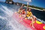 bali, bali hai, cruises, bali hai cruises, activities, banana boat, banana boat riding