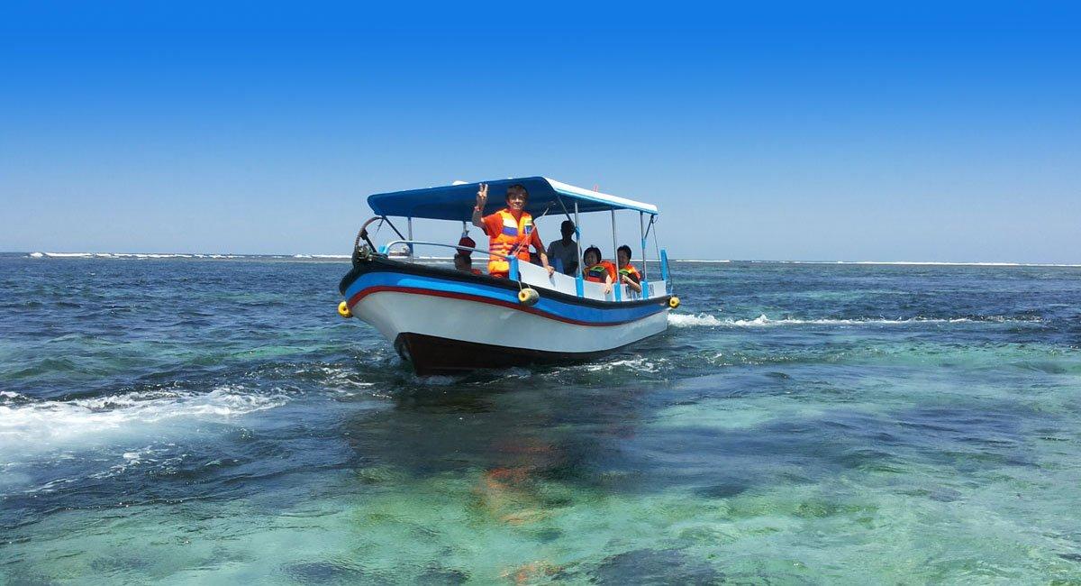Bali Glass Bottom Boat Tour | Favorite Bali Water Sport Activities