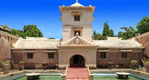 taman sari, yogyakarta, water, castle, park, places of interest, taman sari yogyakarta, water castle