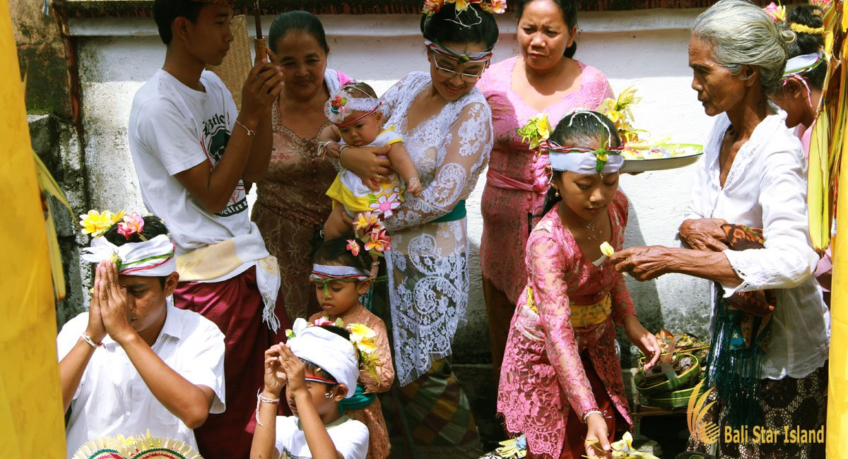 Bali Three Months Baby Ceremony | Photo Gallery