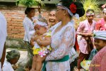 baby and mom, balinese, bali, three months, ceremony, bali three month baby, balinese three month baby ceremony