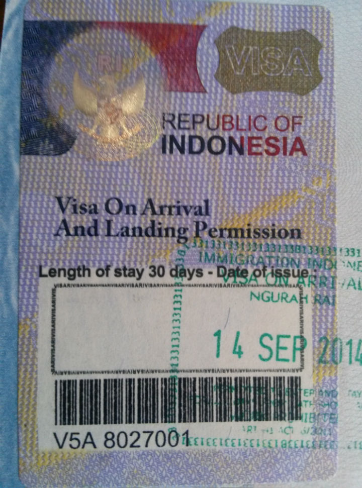Indonesia Visa Regulations Bali In A Nutshell