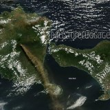 Raung volcano satellite pictures – daily