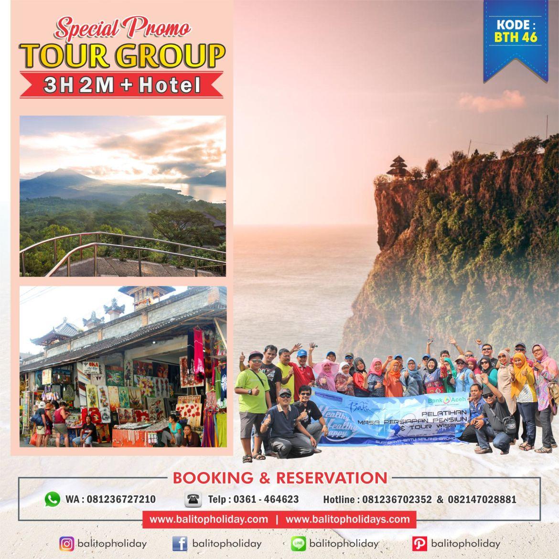 Paket tour group bali 3H 2M
