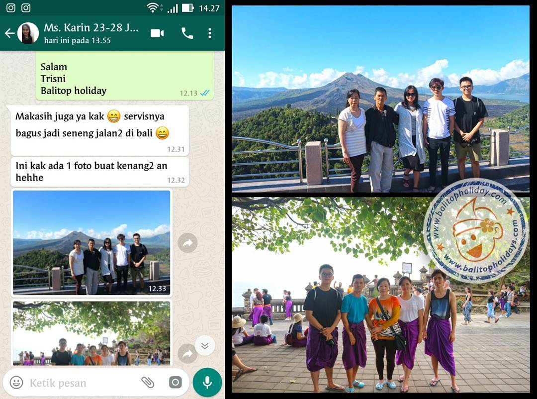 Paket Tour Bali 4 Hari 3 Malam (Special)