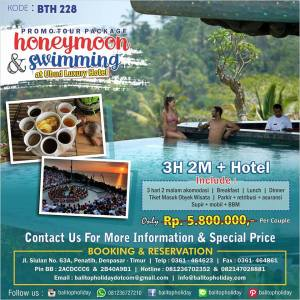 paket tour honeymoon bali