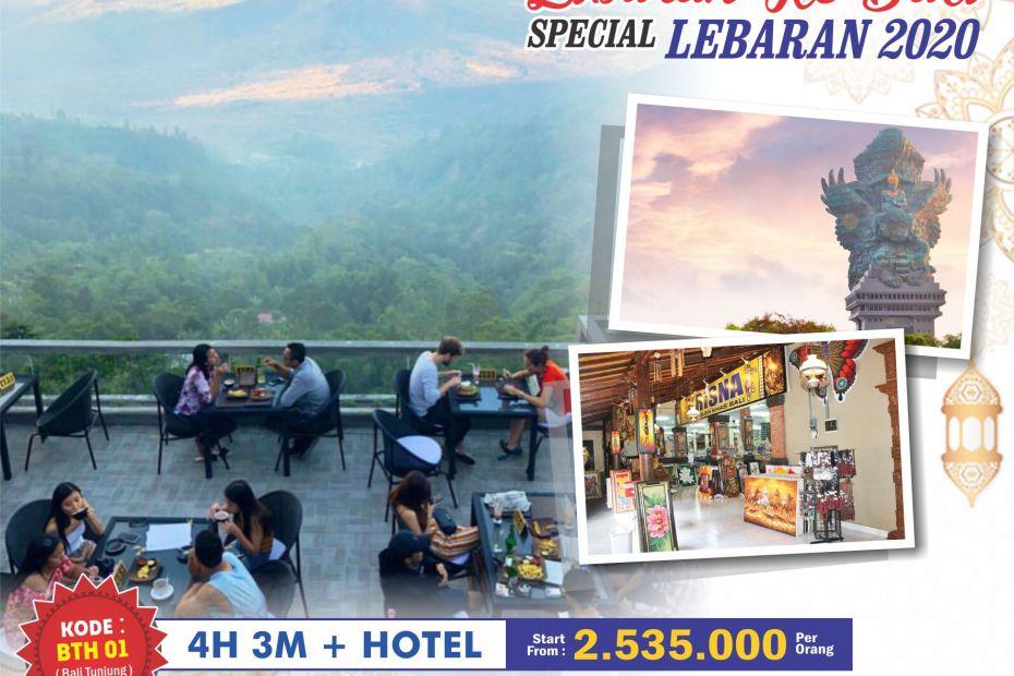 Paket tour Lebaran 2020 Bali