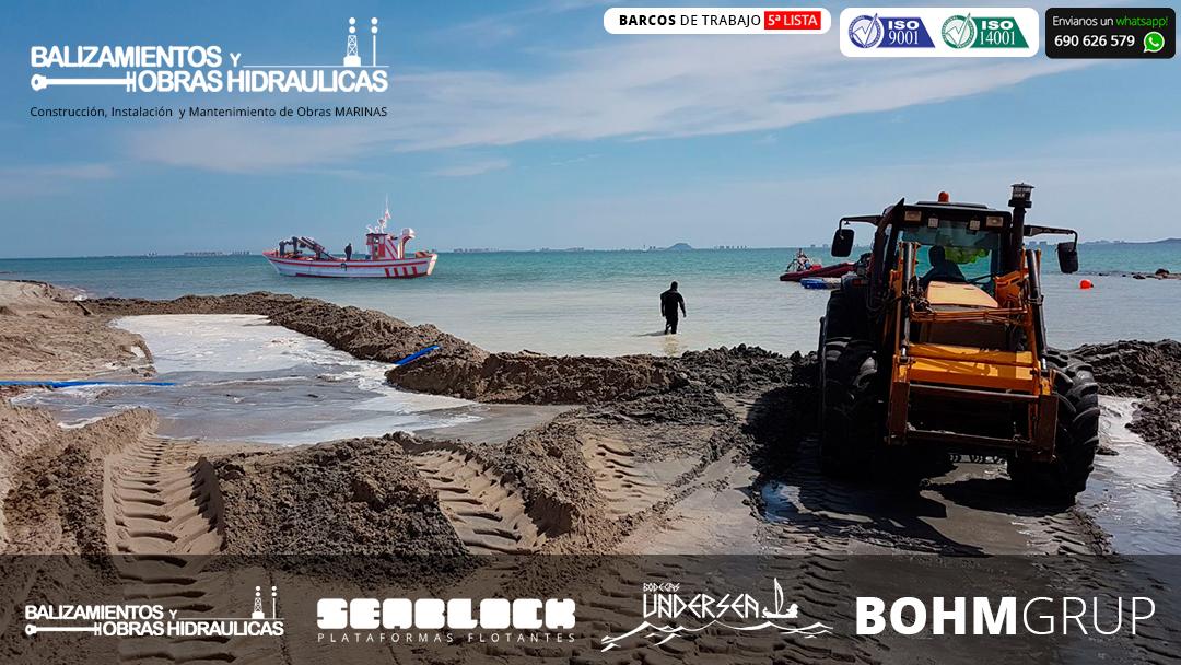 Balizamientos y Obras Hidraulicas embarcaciones de 5ª lista