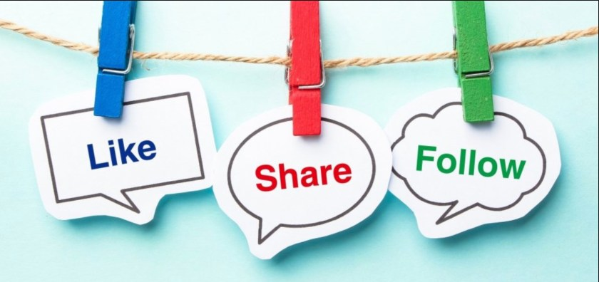 Like, Share Follow
