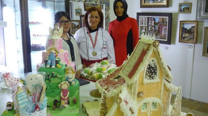 ismek pastacılık bölümü-sanat eseri pastalar
