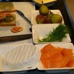 Feige Lachs Sandwich