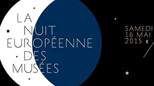 Visuel officiel de la Nuit europeenne des musees 2015 ballad et vous