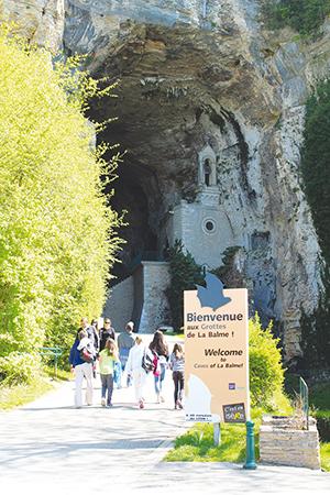 Grottes de la Balme ballad et vous