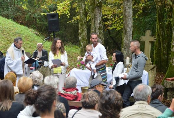 Poirin Marignieu pèlerinage baptême 2015