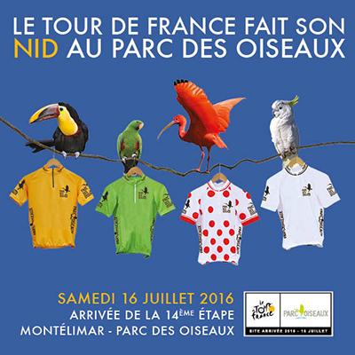 Parc des oiseaux Tour de France 2016