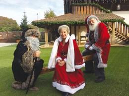 Au Hameau du Père Noël : PF, MN et PN