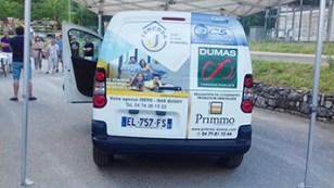 Culoz Remise officielle des clés du véhicule publicitaire 3