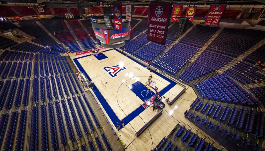 Arizona Wildcats Court