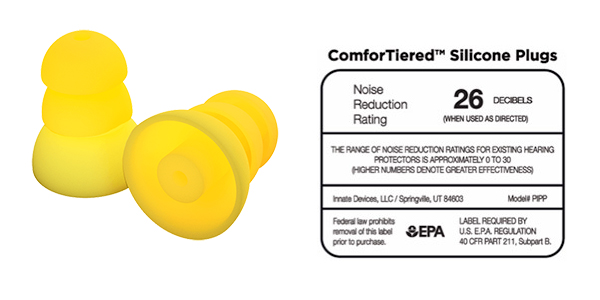 ComforTiered Silicone Plugs