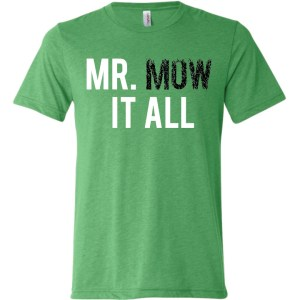 Mr Mow It All