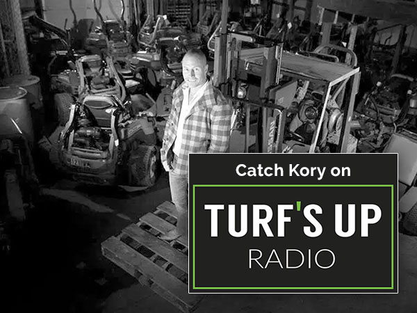 Kory on Turfs Up Radio