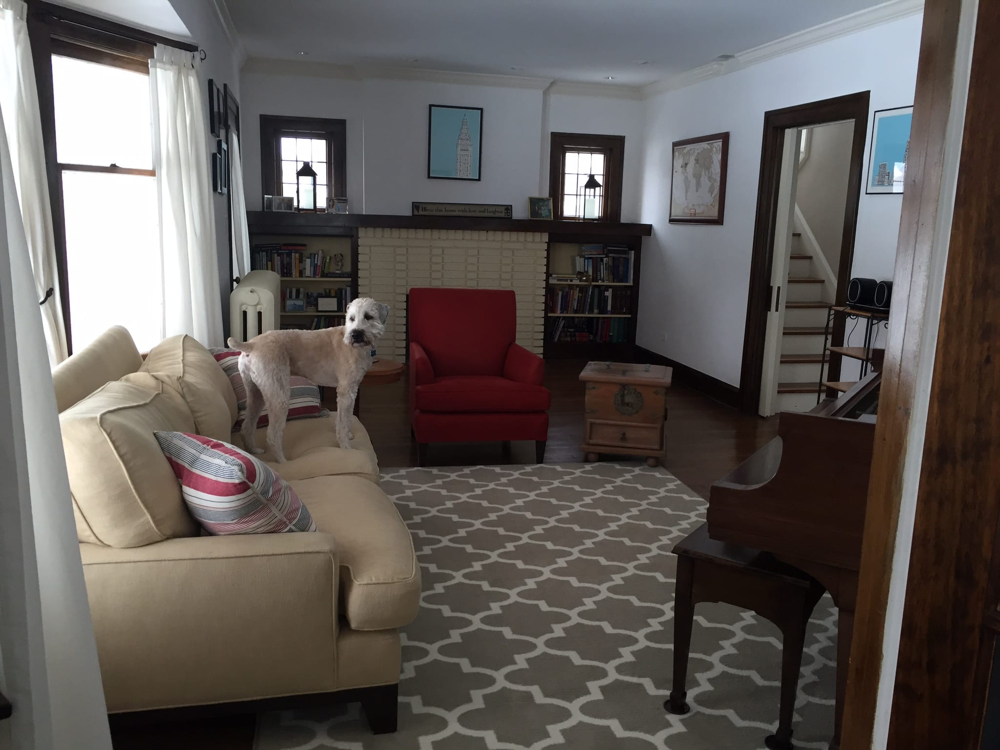 Layout For An Awkward Small Living Room