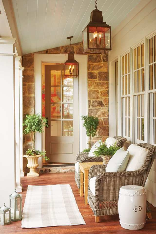 15 Ways To Arrange Your Porch Furniture