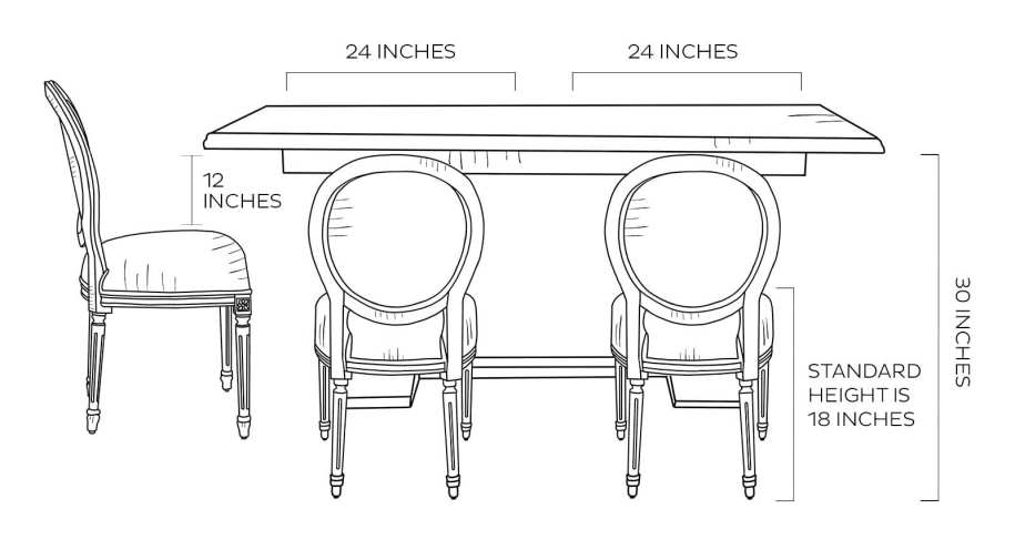 How to Pick the Right Dining Chair Size and Style   How to ...