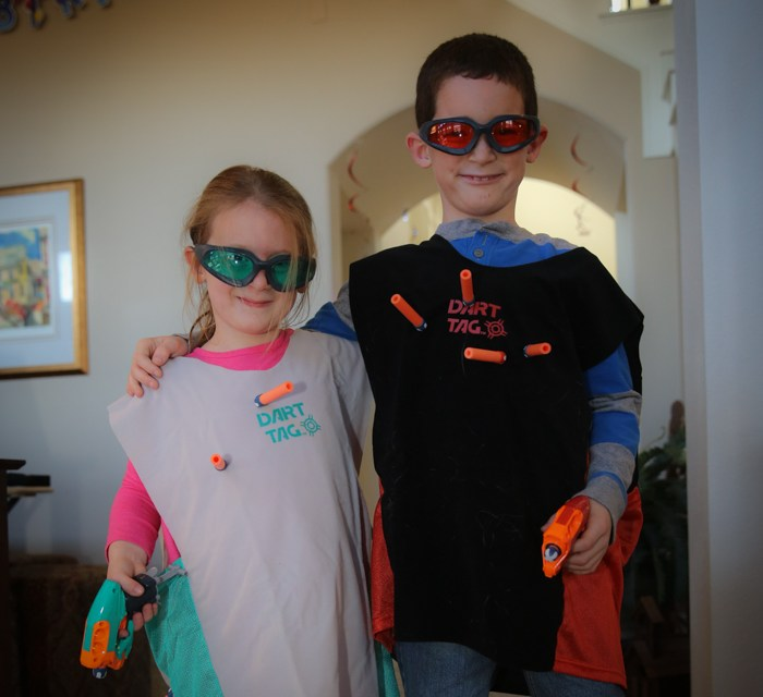 Playing Nerf Dart Tag…A Perfect Inside Sport